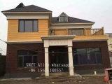 Casa ligera prefabricada ensamblada fácil prefabricada del chalet de la estructura de acero