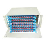 FC optique Patch Panel (96 Noyaux) Coupler Métal