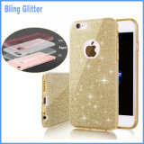 Caso do Glitter de Bling para o iPhone 6/6s mais a caixa do telefone 7 7plus
