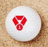 Permanente Tinten-Golfball-Stempel