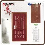 Pelle di legno del portello della melammina di disegno dei portelli dalla Cina