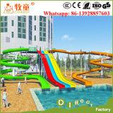 Matériel de glissière d'eau de fibre de verre pour le parc d'attractions de l'eau