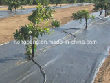 景色ファブリック、庭のための雑草防除の沈泥の塀
