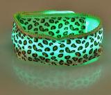 Blinkender LED-heller GlühenWristband mit kundenspezifischem Firmenzeichen für Nachtclub