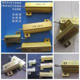 Rx24 (RX600) Golded 알루미늄 Wirewound 저항기 100W 250W 알루미늄 힘 저항