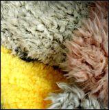 Pelliccia riccia molle eccellente dell'agnello del Faux