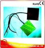 calefator da almofada de borracha de silicone de 12V 200W 145*145*1.5mm