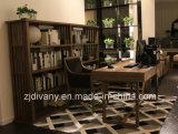 Móveis modernos de sala de estudo de mesa de madeira italiana