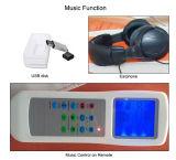 Música automático Full Body Massage térmica Jade Cama