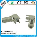 RFのコネクターのためのBNCの同軸コネクタF Kd6a2のコネクター