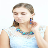 새로운 품목 유리 돌 형식 보석 목걸이 팔찌 귀걸이 보석 세트