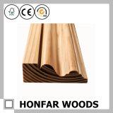 Molde de madeira material da coroa da decoração normal