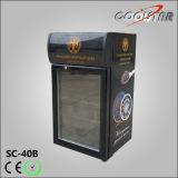 Refrigerador Tabletop pequeno do indicador com porta de vidro