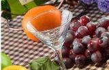 新しいデザイン高品質のCoktail卸し業者のためのガラスジュースのコップのアイスクリームのコップ