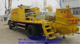 Bomba concreta montada caminhão com saída 60~115m3/H