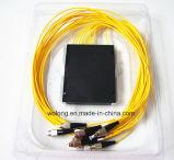1X8 PC ABS Box Optical Fiber Splitter van FC