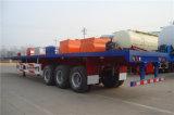 3 Behälter-Transport-halb Schlussteil des Wellen-Flachbett-40FT