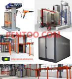 Narrow Space를 위한 가로 Move Automatic Powder Coating Line
