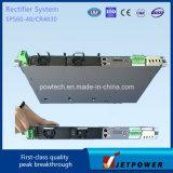 Sub-bastidor 1U 220VAC / 48VDC 60A Unidad de potencia Sistema de Suministro / rectificador