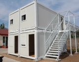 casa do recipiente de 20ft combinada no acampamento da acomodação