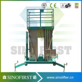 6m-12m elektrische aufrechte Aluminiumlegierung-Strichleiter für helle Pflege
