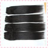 Tecelagem de seda do cabelo reto do cabelo peruano do Virgin