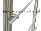 Balustrade et balustrade d'acier inoxydable de supports de barre transversale