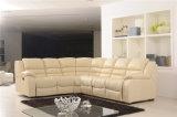Mobília de couro do sofá de Italy do lazer (801)