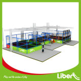 CE Approved Liben Popular Kids Indoor Trampoline Park con Foam Pit