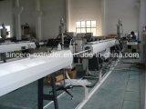Linha de produção oca 50mm da tubulação da drenagem do mudo da parede do PVC 110mm