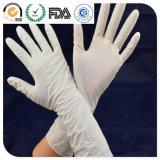 Устранимые перчатки LDPE, перчатки латекса рассмотрения