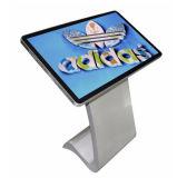 Publicidad del suelo de la visualización del LCD que coloca el quiosco de la pantalla táctil de 50 pulgadas