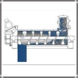 지속적인 수평한 산업 건조한 분말 믹서 기계