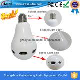 중국 공급자 리모트를 가진 싼 다색 E27 Bluetooth 스피커 LED 전구