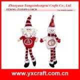 Homme de neige de Noël d'idée de Noël de la décoration de Noël (ZY15Y072-1-2)