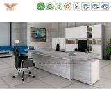 現代オフィス用家具L形の管理の机(結合者ED26)