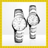 Paypal reçoivent la montre de quartz de Madame de mode de promotion et de poignet de dames