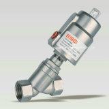 Válvula de pistón neumática del acero inoxidable de 100 series
