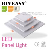 AluminiumInstrumententafel-Leuchte des rahmen-u. Plastikrückseitige Quadrat-9W LED