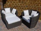 ジュネーブの屋外の藤の椅子セット