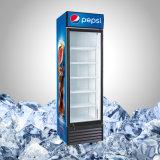 Refrigeratore dritto della visualizzazione per le bevande