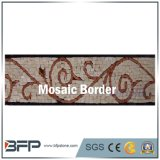 Beira do mosaico do mármore da cor da mistura da decoração interior