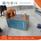 Máquina de tecelagem de malha de arame com prensas hidráulicas