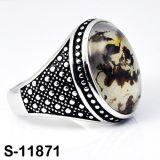 Juwelen 925 van de Manier van Hotsale van de fabriek de Zilveren Ring van Juwelen
