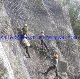 Sns 액티브한 바위 가을 담 유연한 사면 보안 시스템