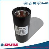Capacitores de começo monofásicos dos motores elétricos para máquinas Refrigerant