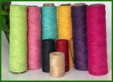 Venda al por mayor la cuerda coloreada del yute para el trabajo de arte