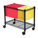 Multi-Functional Office File Storage / Steel Wire File Cart, / File Trolley (CJ-A1207)
