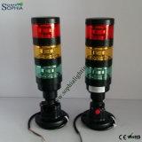 빨간 호박색 녹색 신호 탑 빛, CNC를 위한 초인종 빛, 선반 기계
