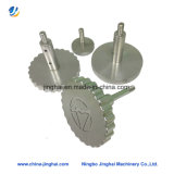 Подгонянный болт алюминиевого сплава подвергая механической обработке с круглыми Knurled головкой/крышкой